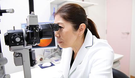 女性医師による丁寧できめ細かい検査・治療